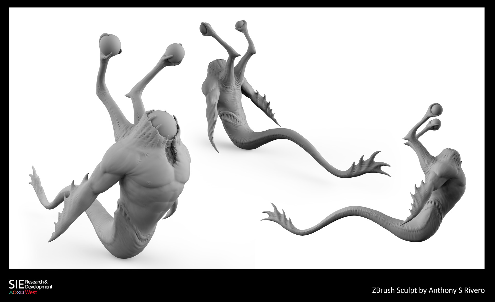 Anthony rivero serpent zbrush