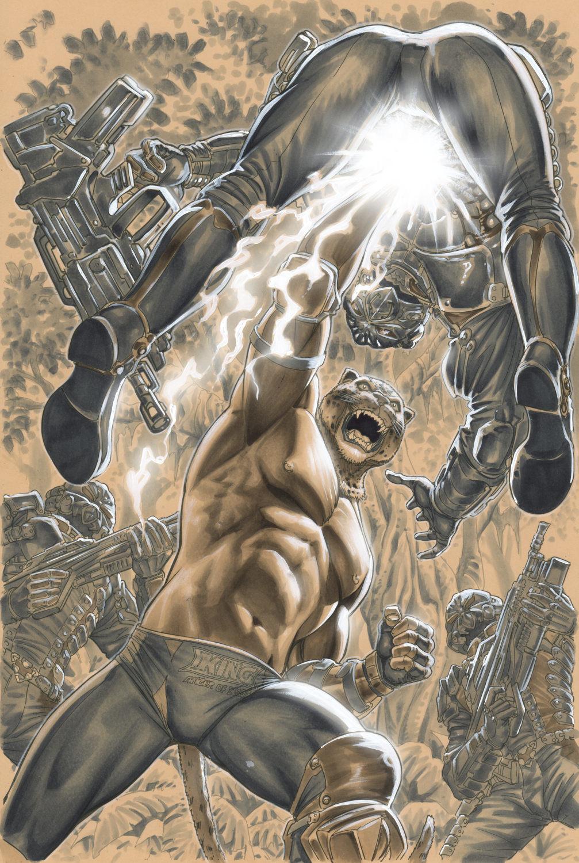Artstation Tekken 2 Varian Cover King Marco Santucci