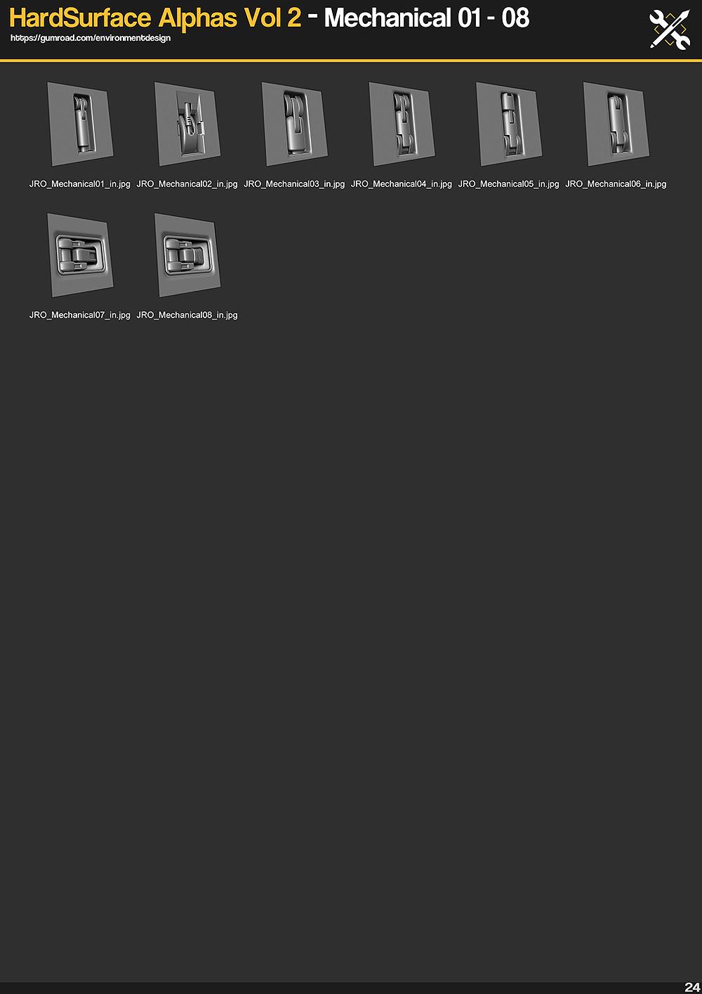 JRO Store - https://gumroad.com/environmentdesign