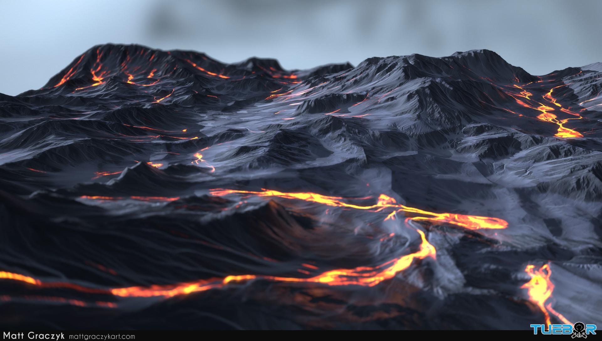 Matt graczyk tuebor lavaflow terrain 3