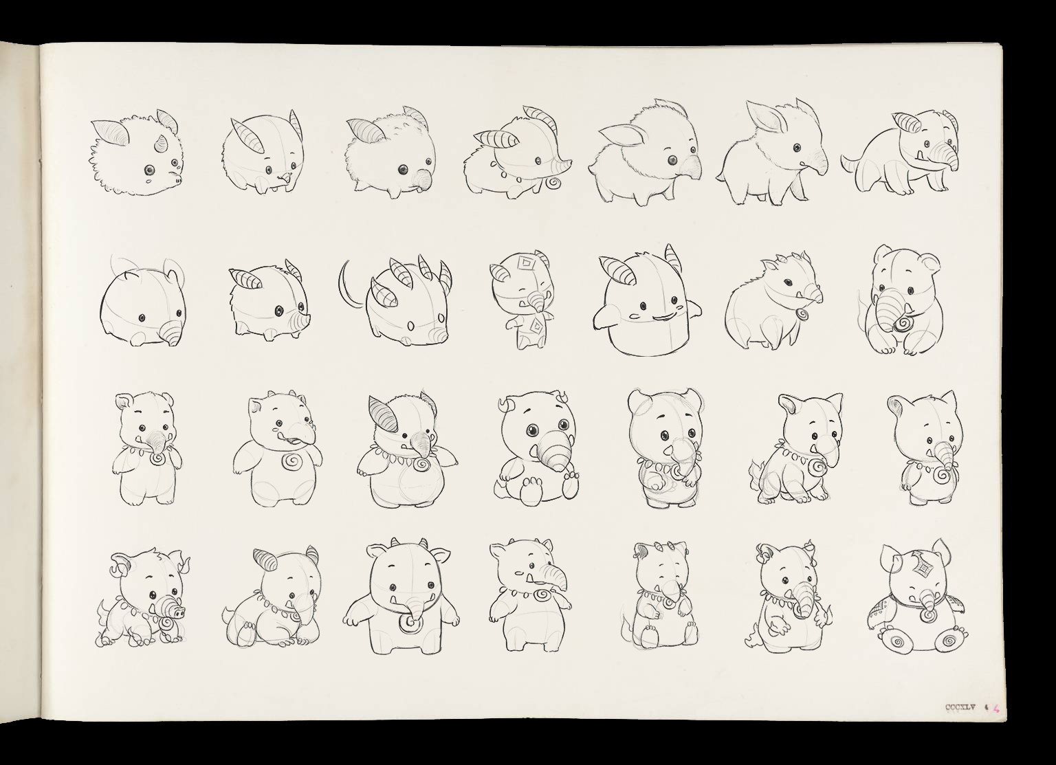 Early Concept Sketches
