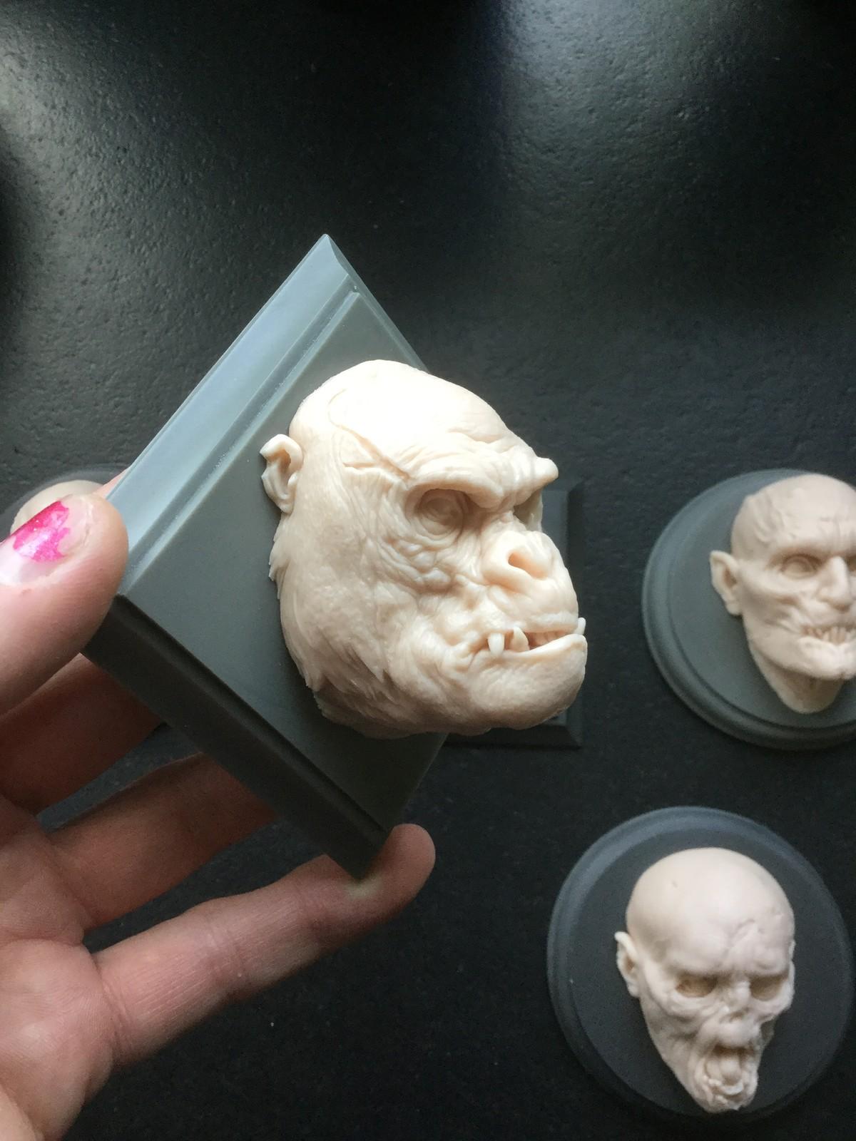 Gorilla/cast resin