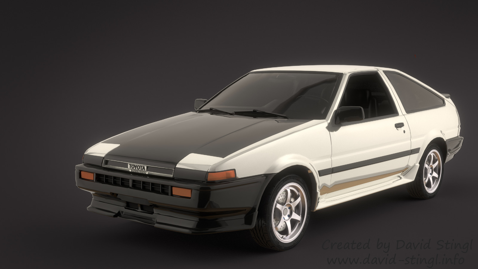 Toyota Trueno ae86 (Eight-Six)