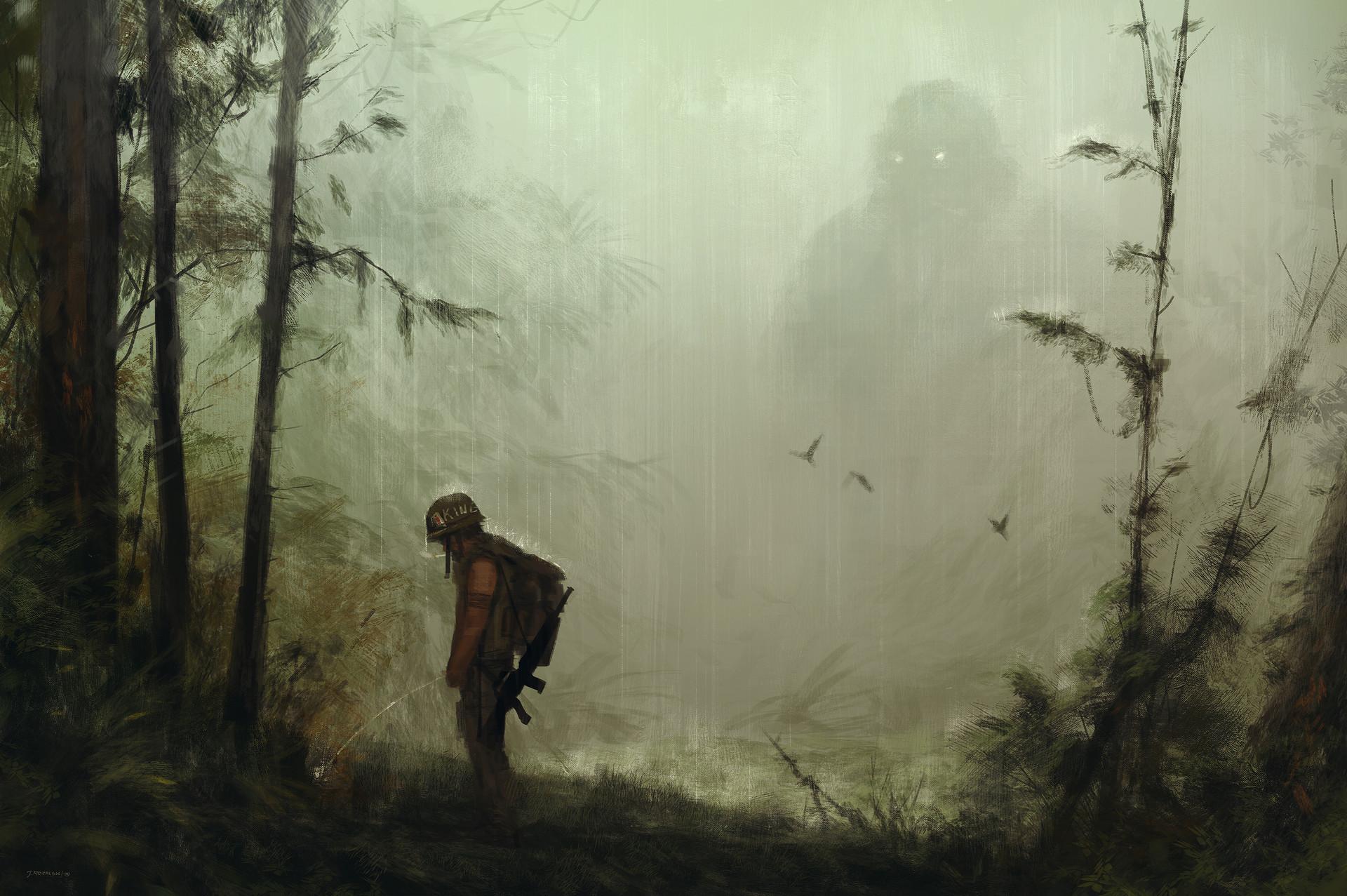 Jakub rozalski kong rain jrs
