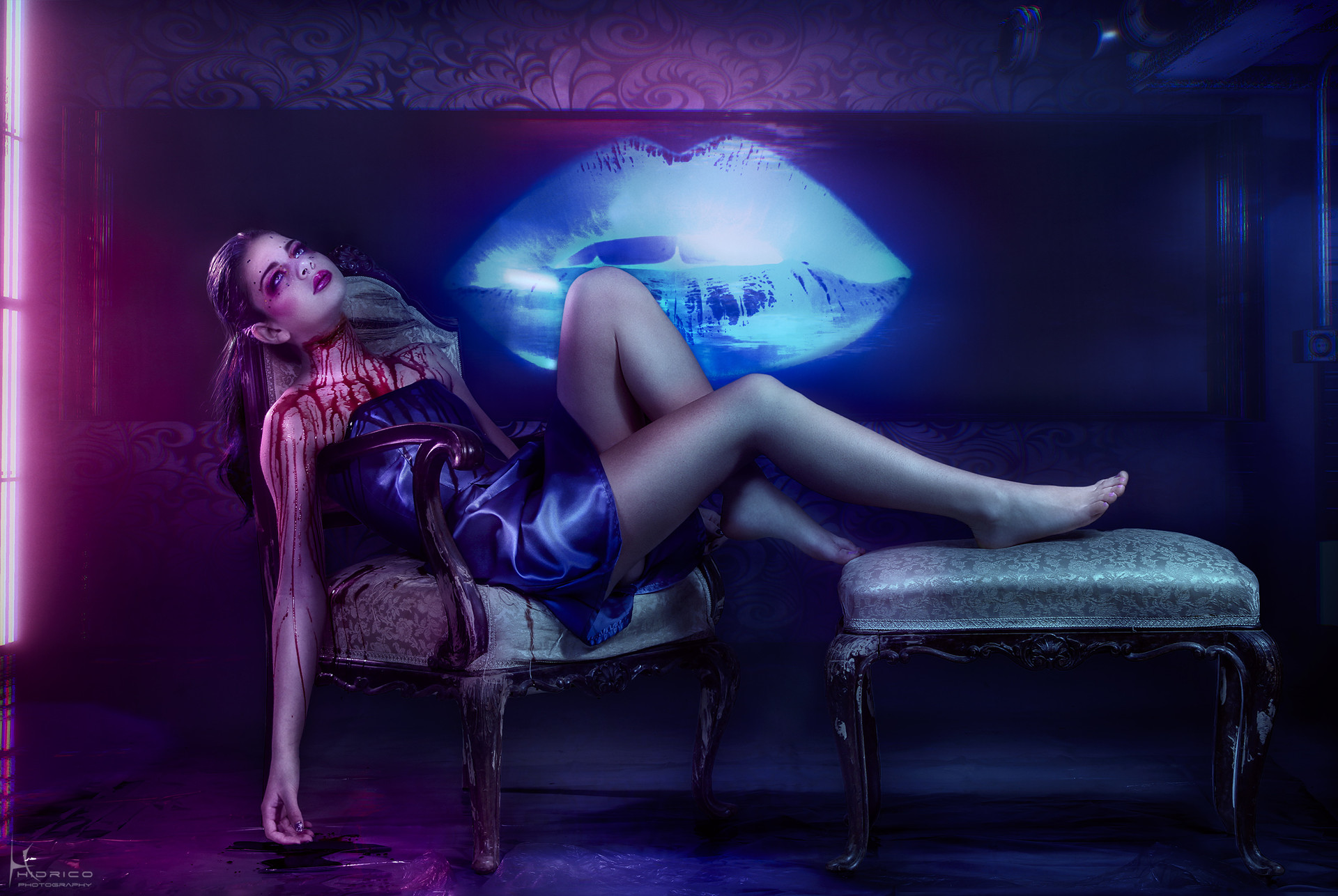 Hidrico rubens 3 beauty is viscious neon demon paula 2 drop