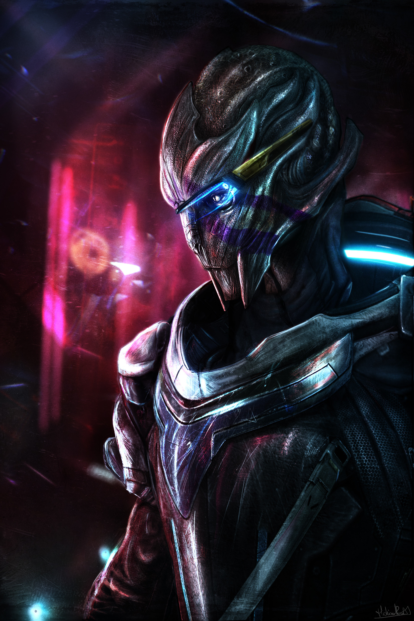 Vetra Artwork From Mass Effect Andromeda Hidrico Rubens Nix Firm