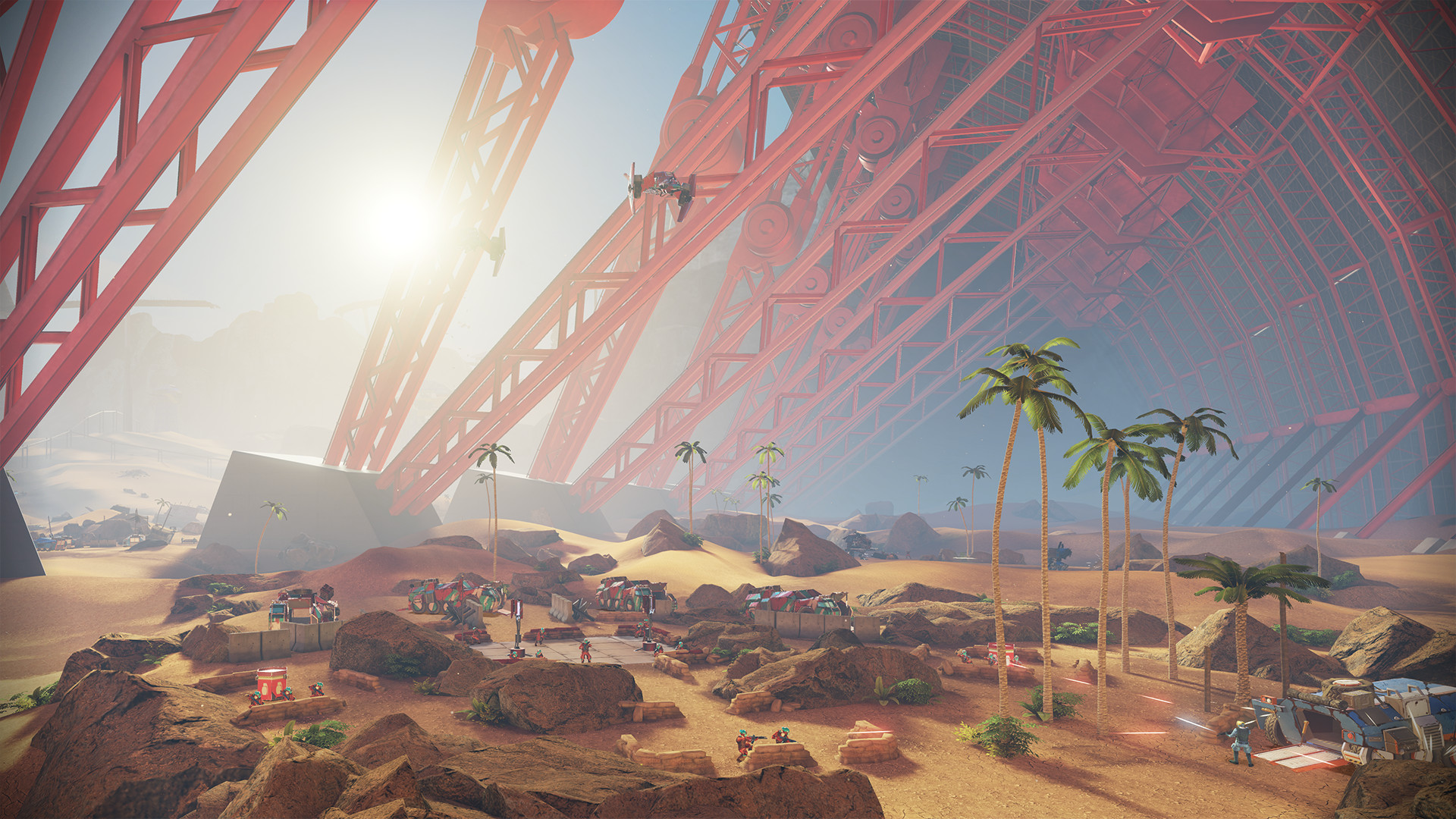 Landfall Environments