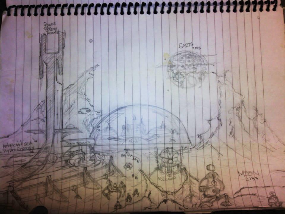 Klaus borges sketch kbm 10