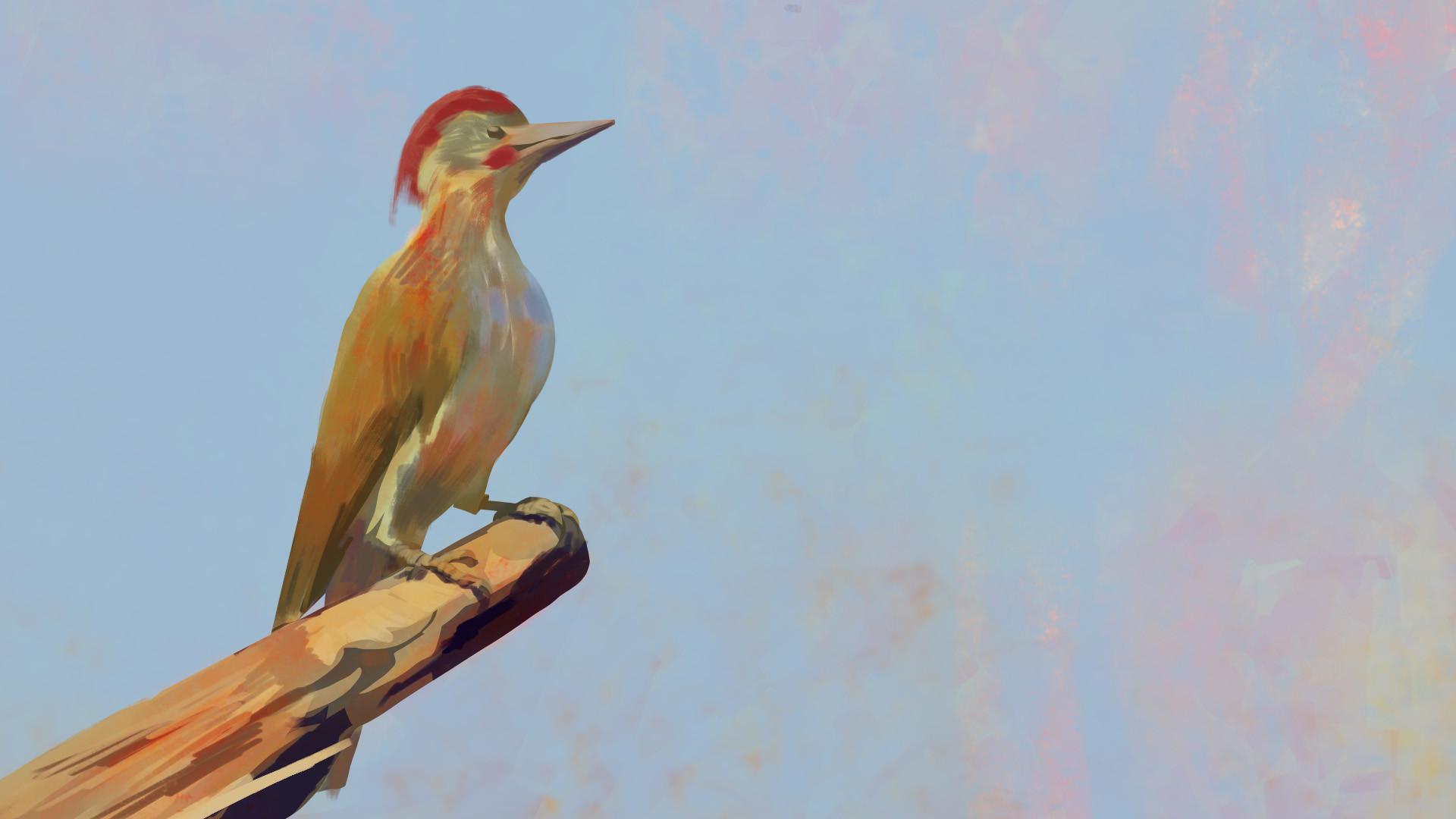 Harrison yinfaowei nubian woodpecker