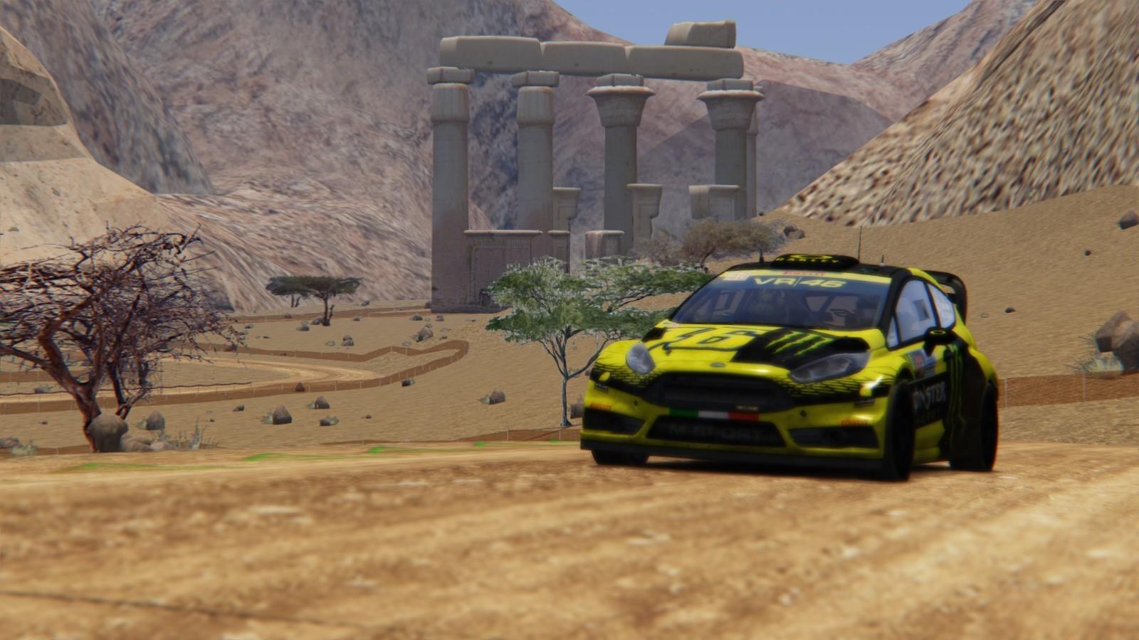 ArtStation - Assetto Corsa Rally Track Mod, Davide Prestino