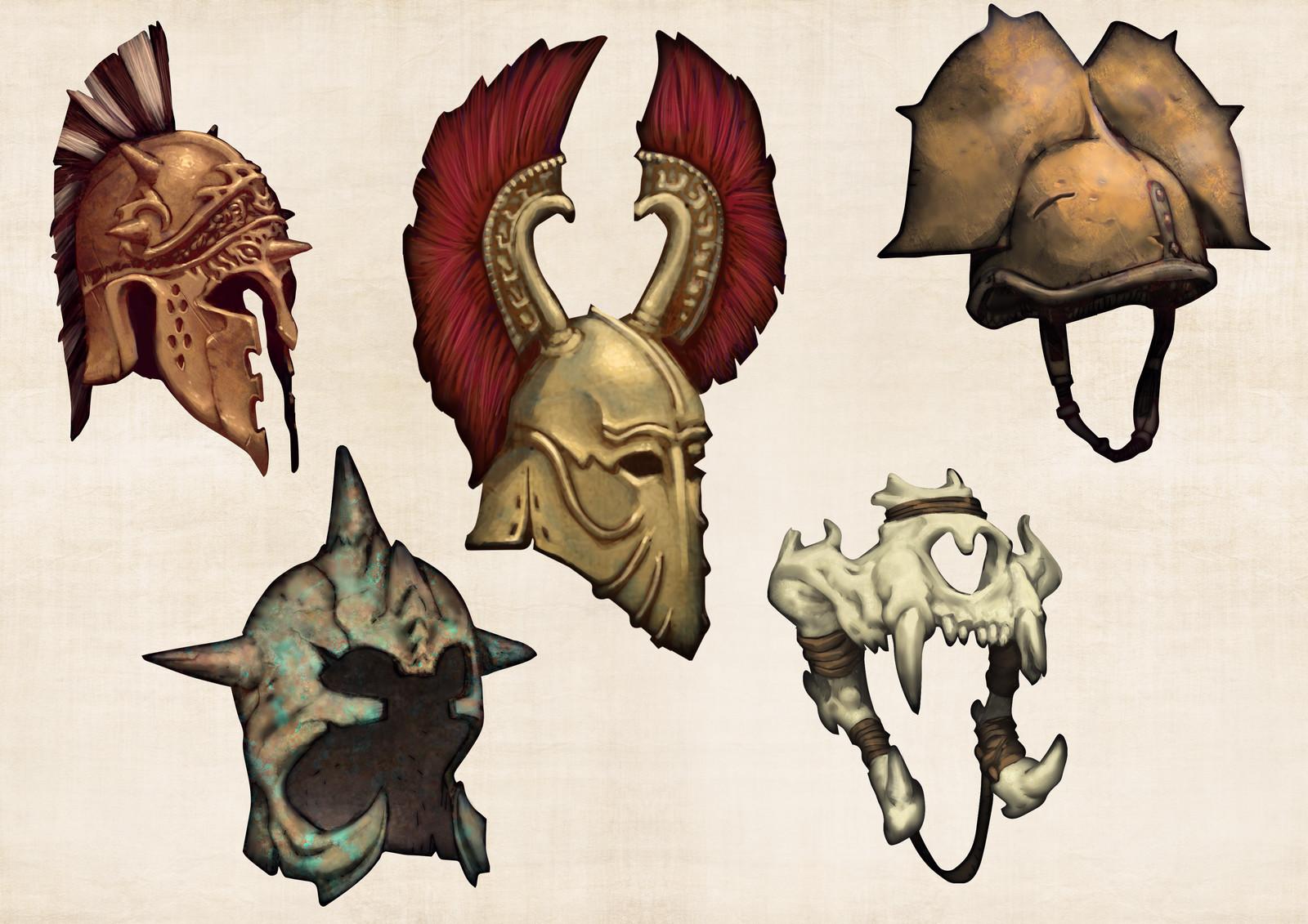 Mythic Battles: Pantheon - Weapons
