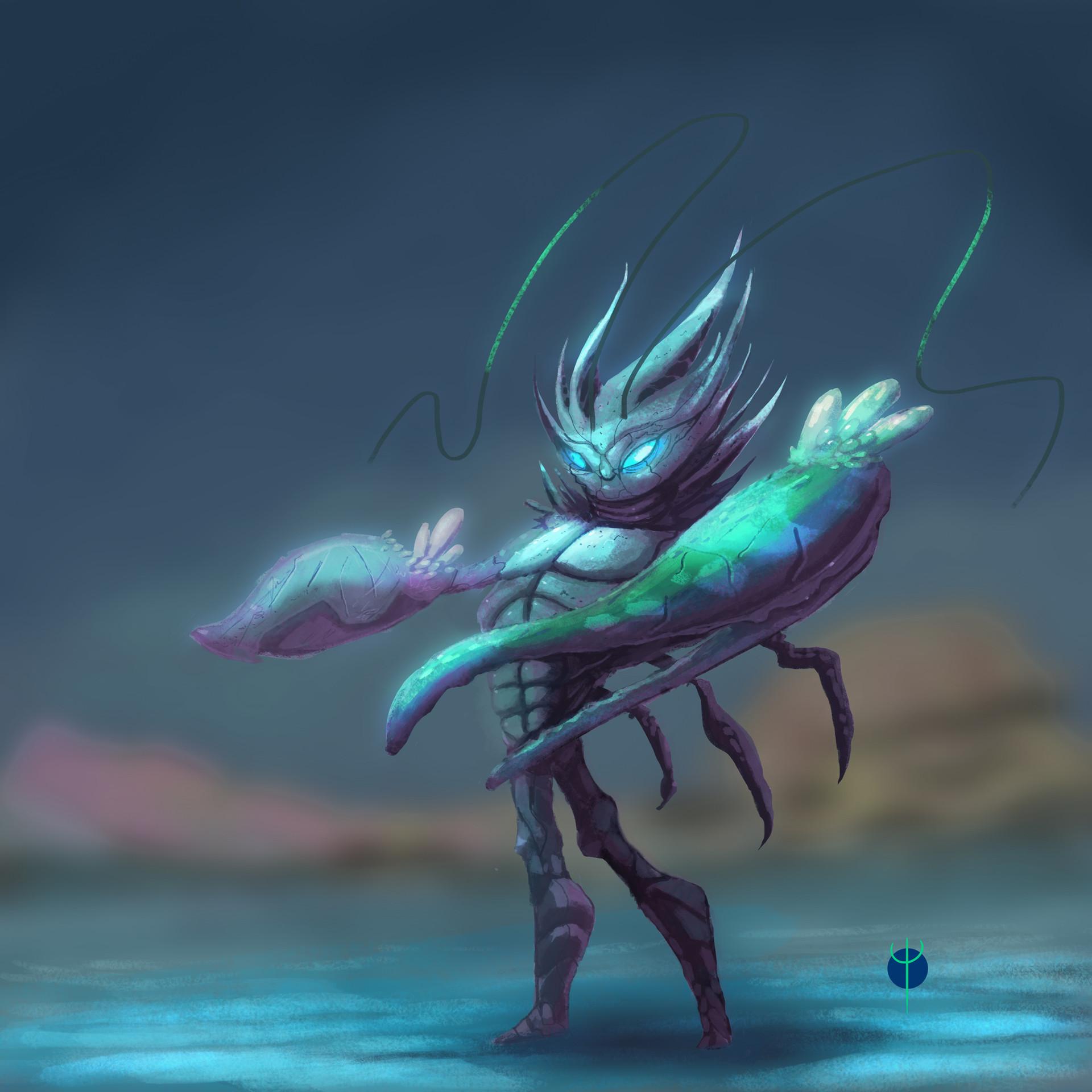 Crab Warrioer Concept Art
