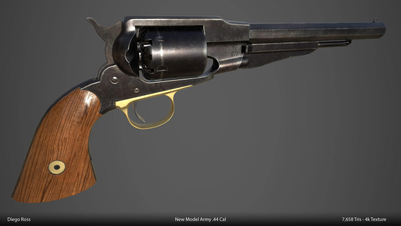New Model Army .44 Cal