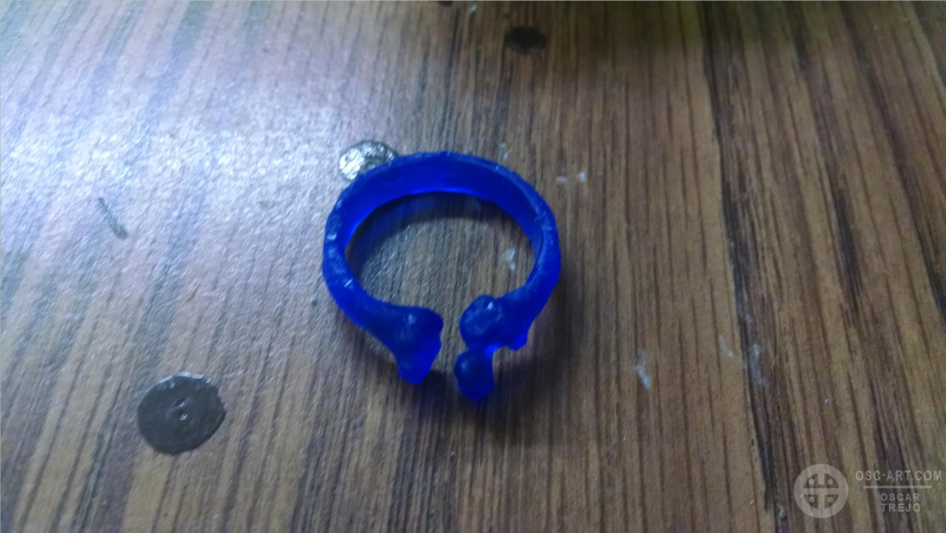 Oscar trejo femur ring print