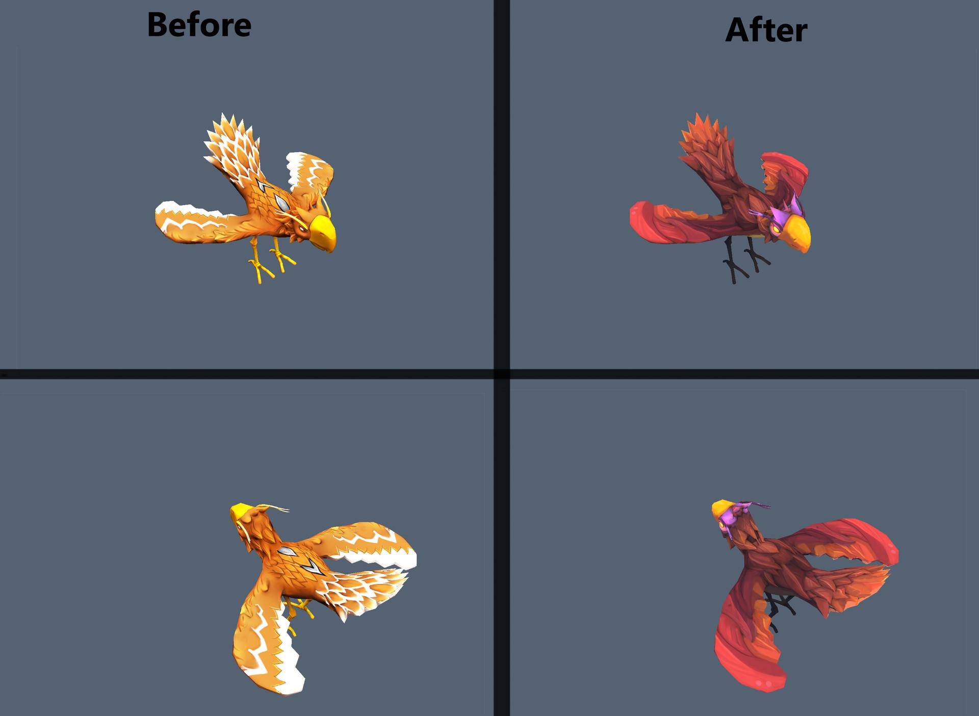 Drakhas oguzalp donduren texture before after2 9
