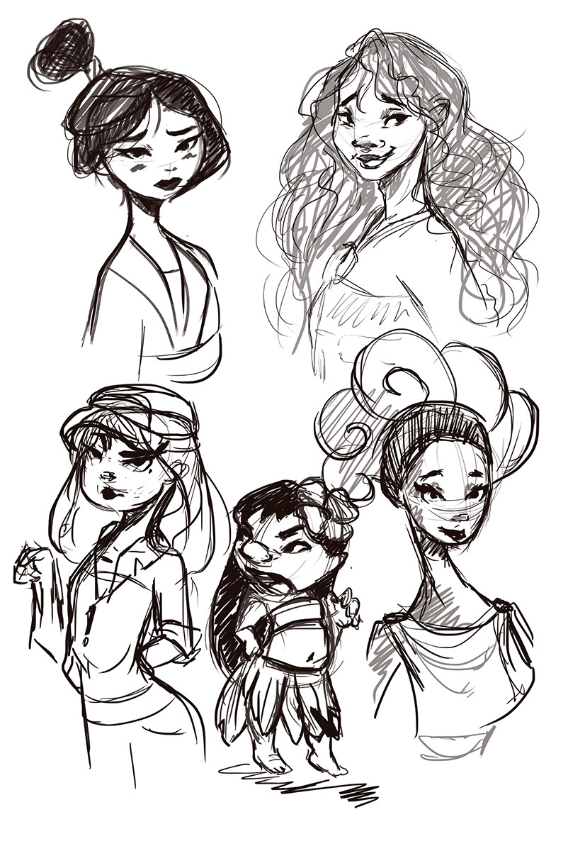 some fan art sketches because..why not?