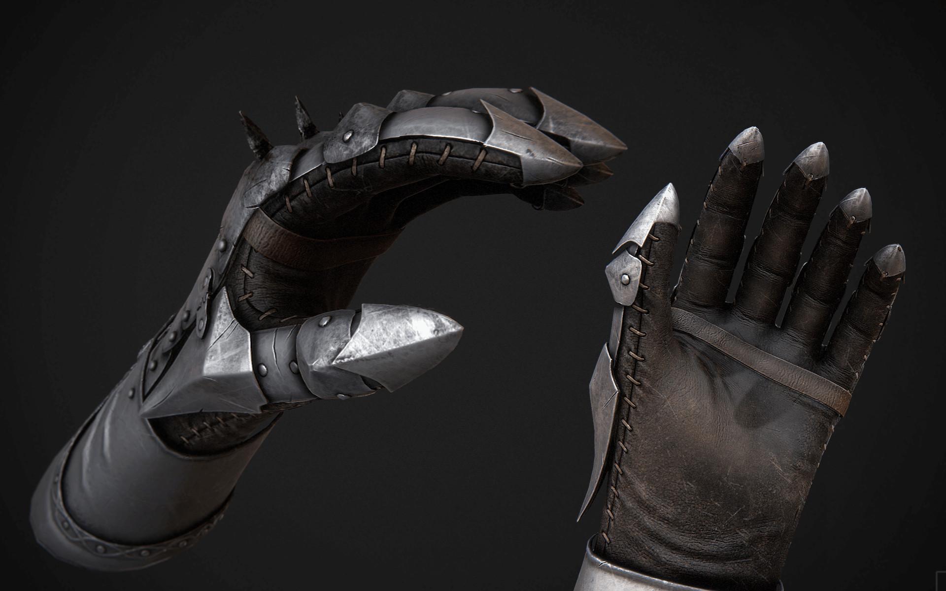 Black leather gloves skyrim - Copy Code