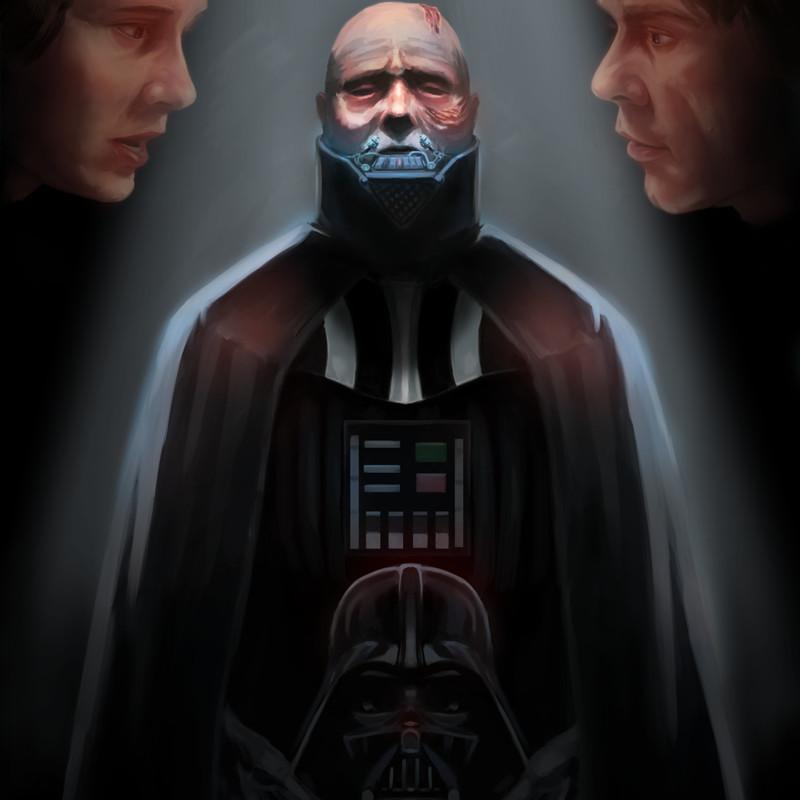ArtStation - Darth Vader unmasked , Anthony Lozada