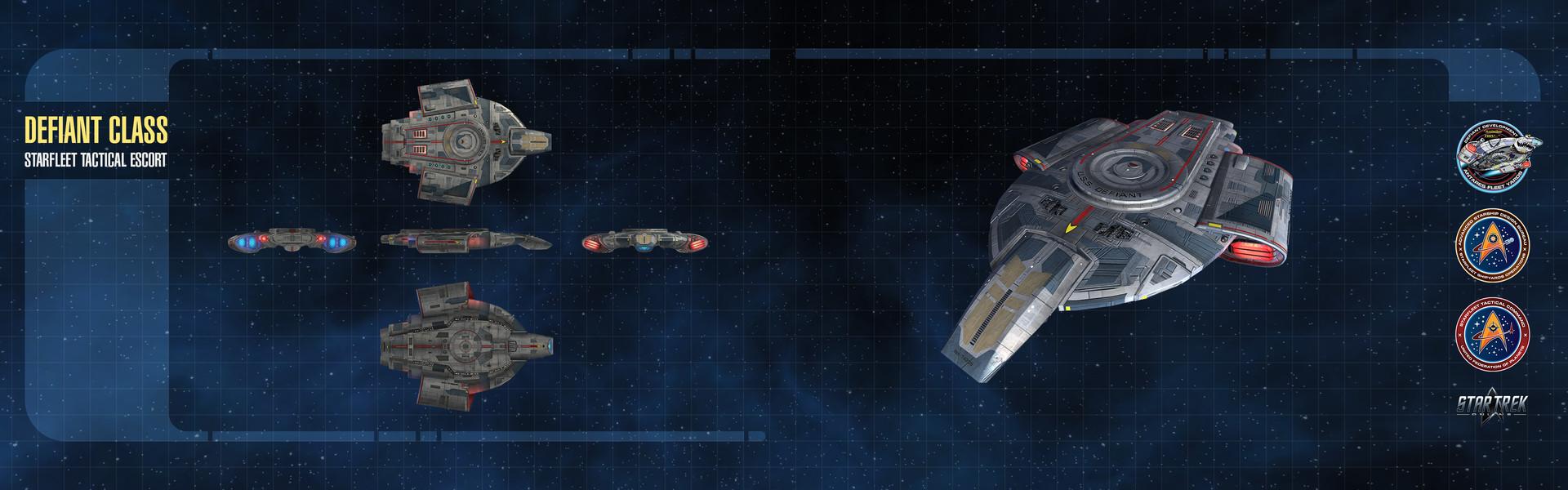 Thomas marrone wallpaper dual ship defiant