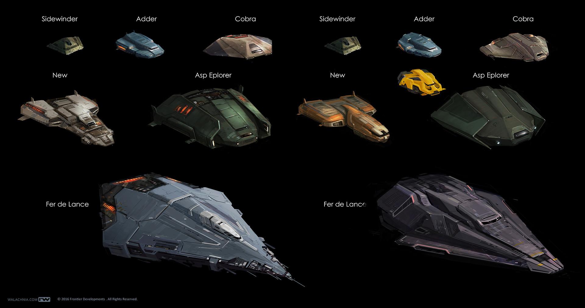 Concept Art Elite Dangerous Squadron Ship