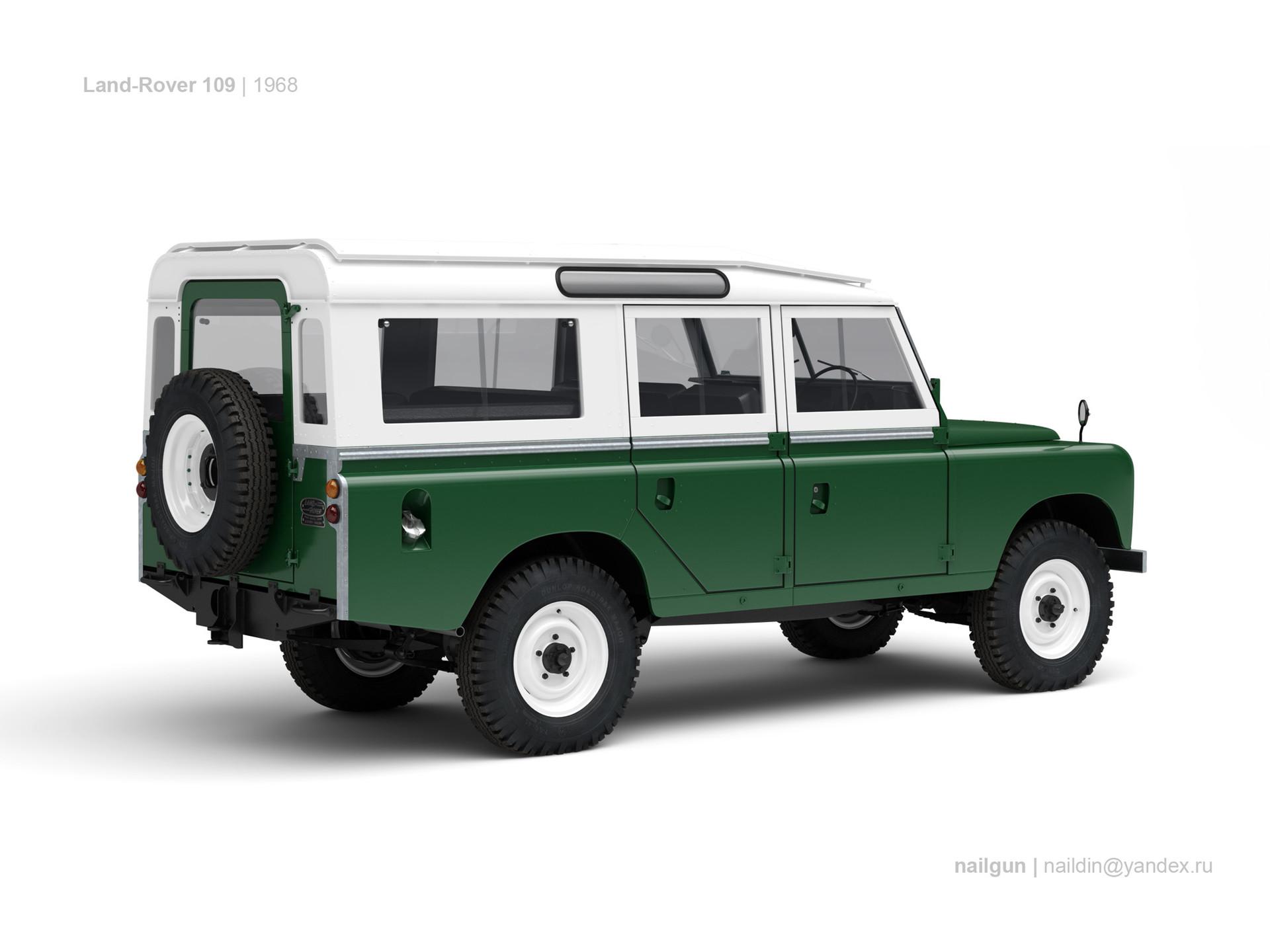 Nail khusnutdinov gb land rover 109 1968 1