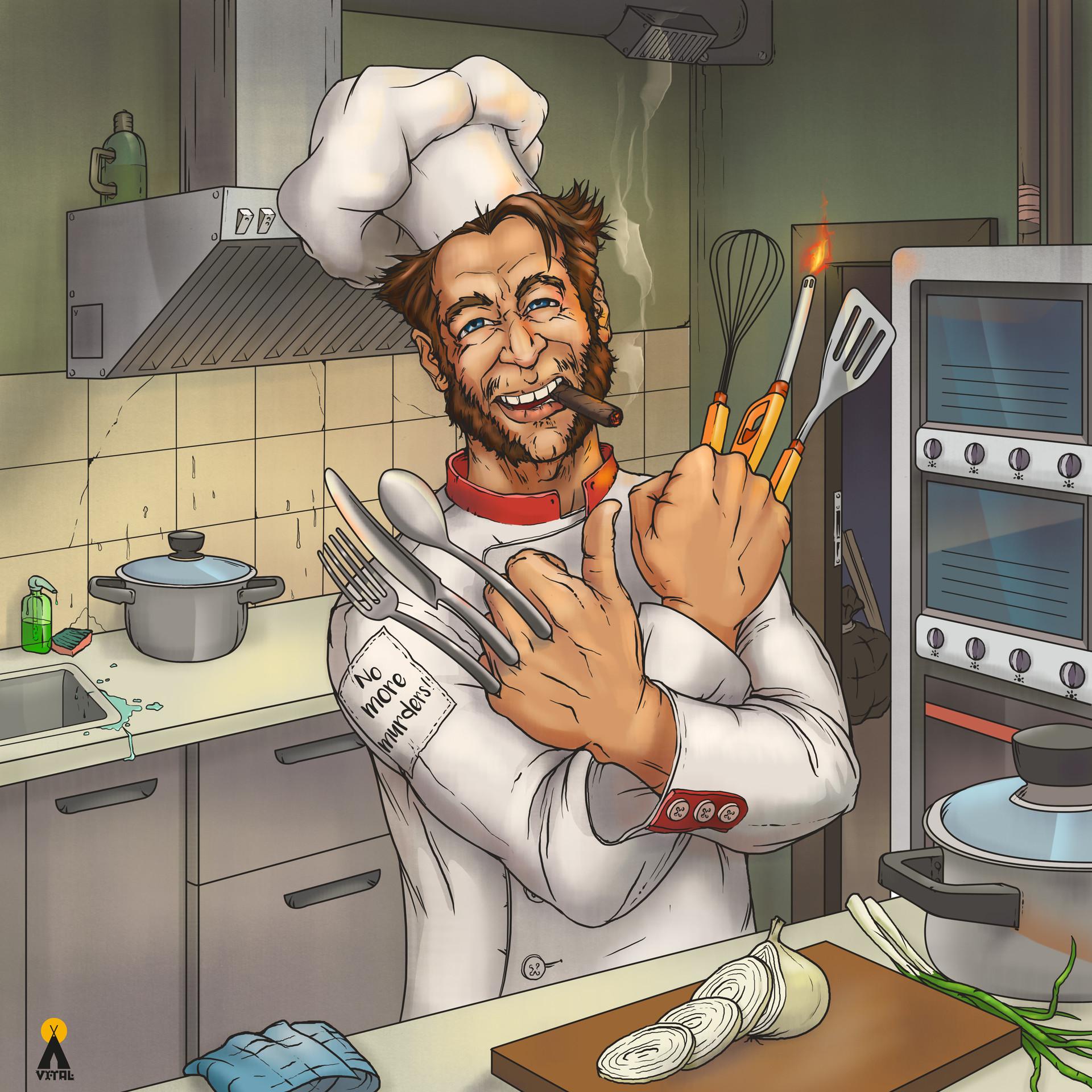 Смешные картинки про кухни