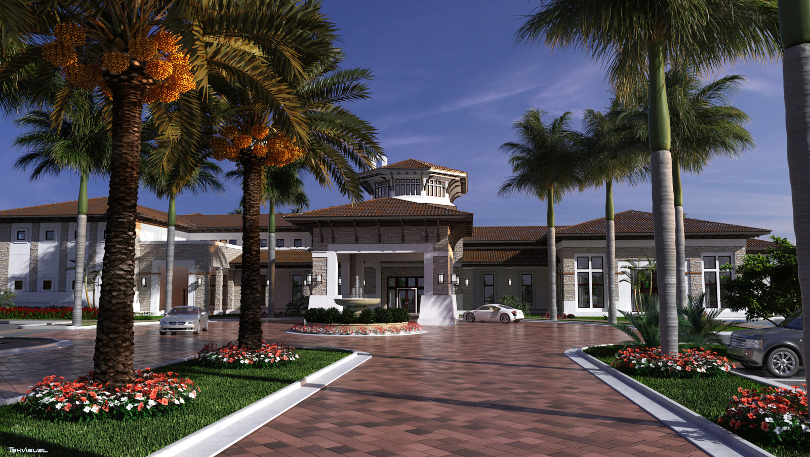 Clubhouse Front