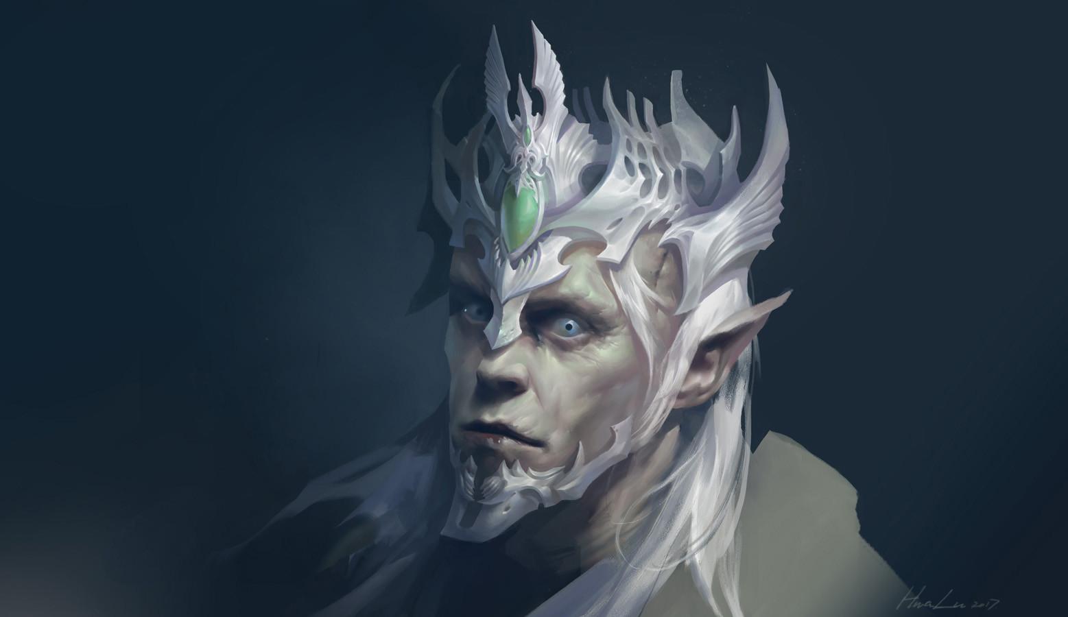 Hua lu dark elf king 2