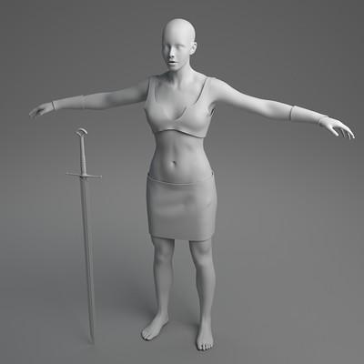 Vilius juodziukynas femalewarrior beauty 0009