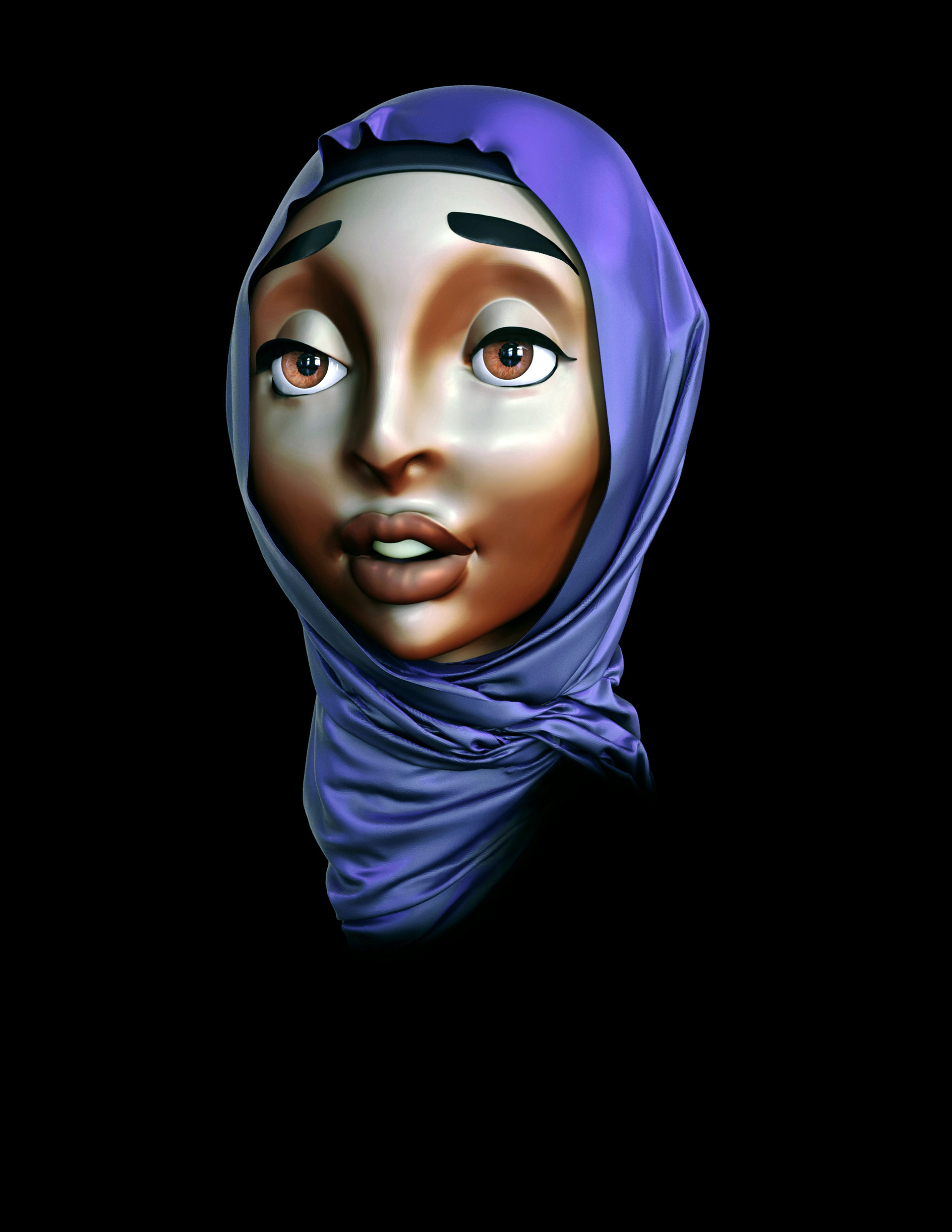 Ejay russell hijab girl 40
