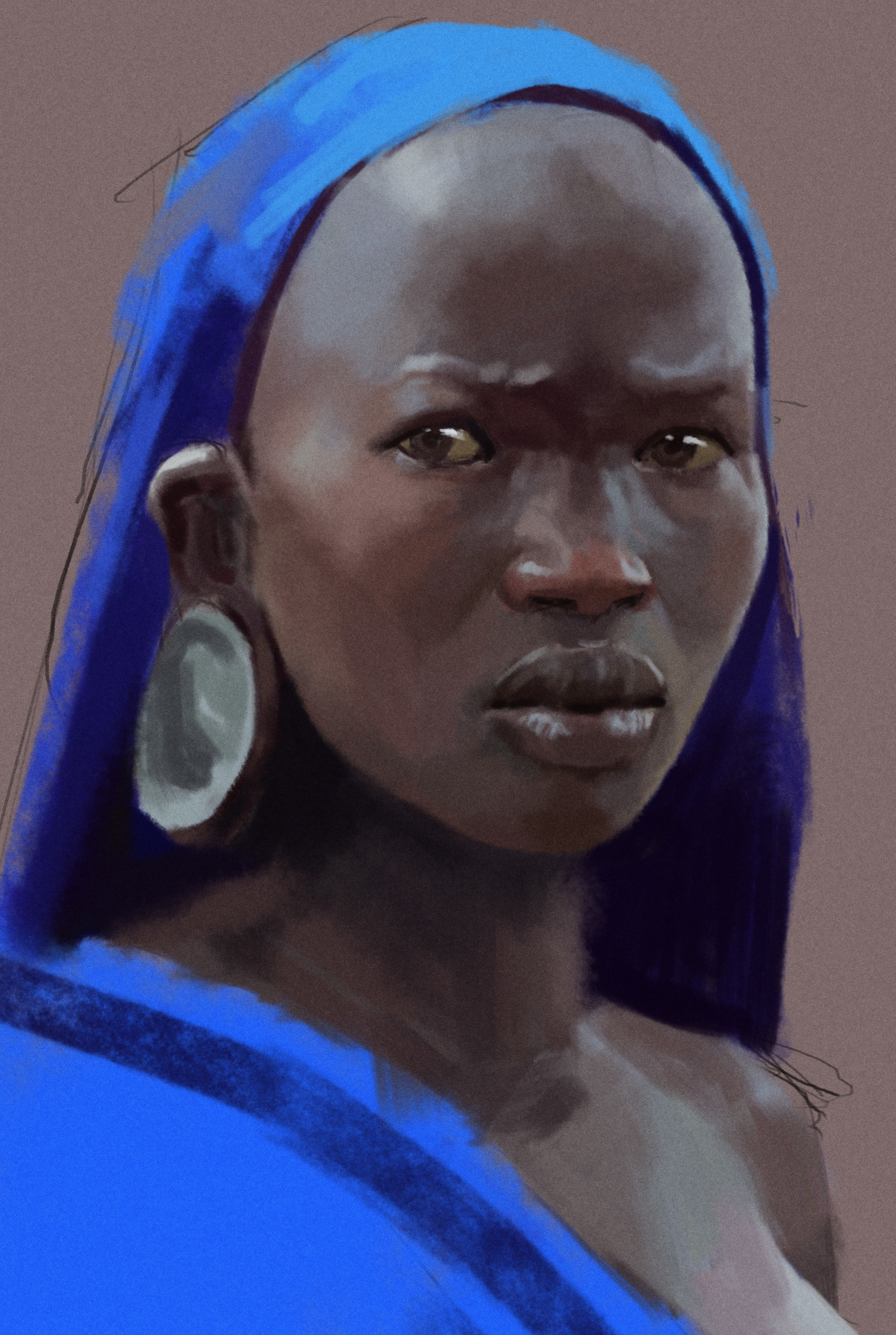 Kevin blagrave african woman