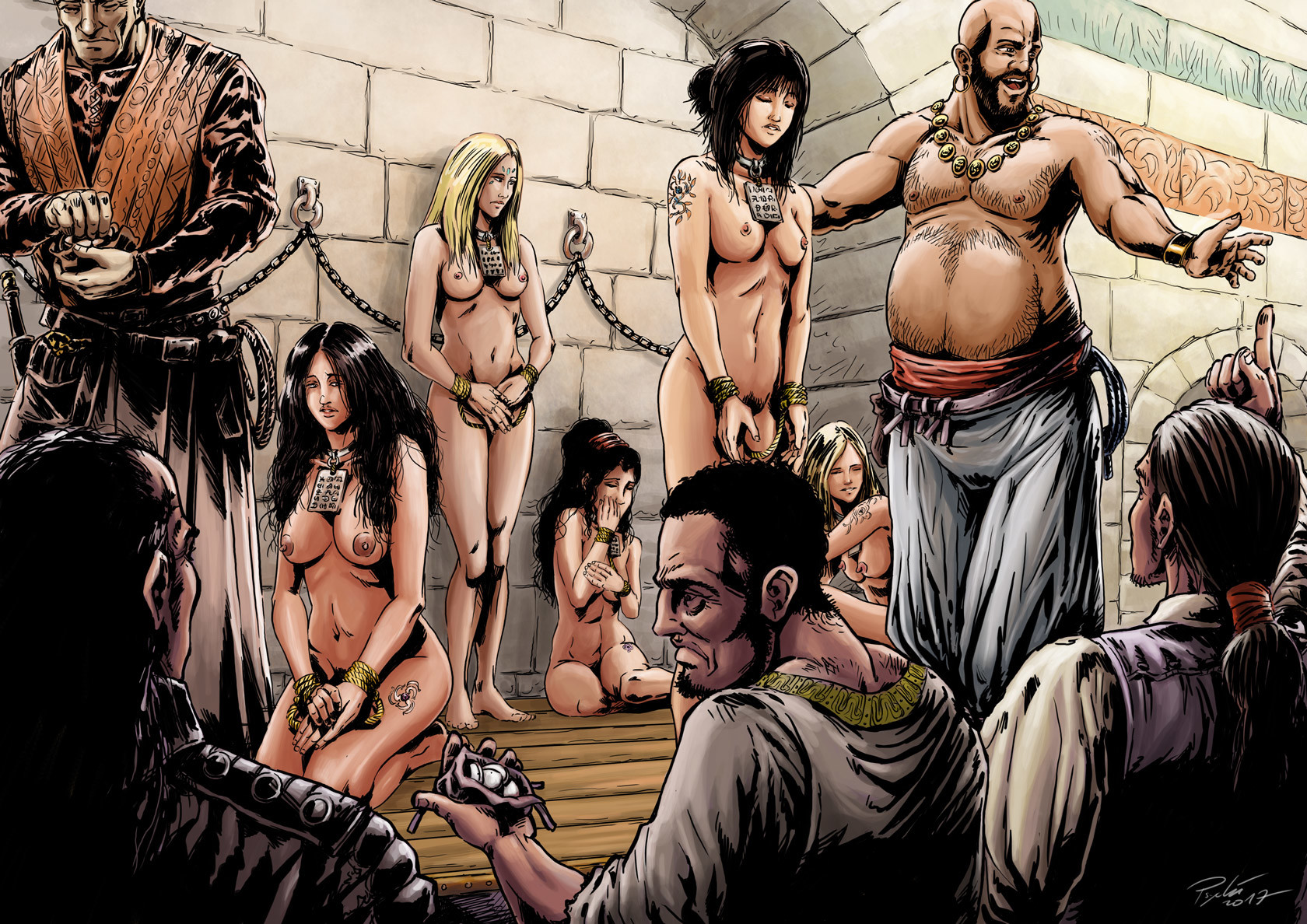 Bdsm female slaves auction