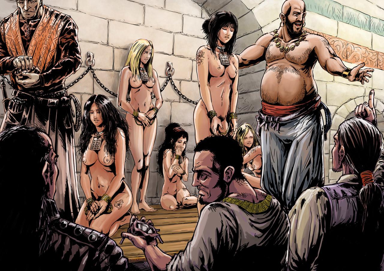 Axelle bouet slave market9
