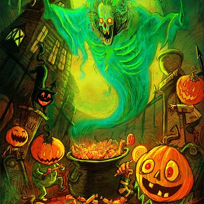 David hartman pumpkin party by hartman by sideshowmonkey daiinao