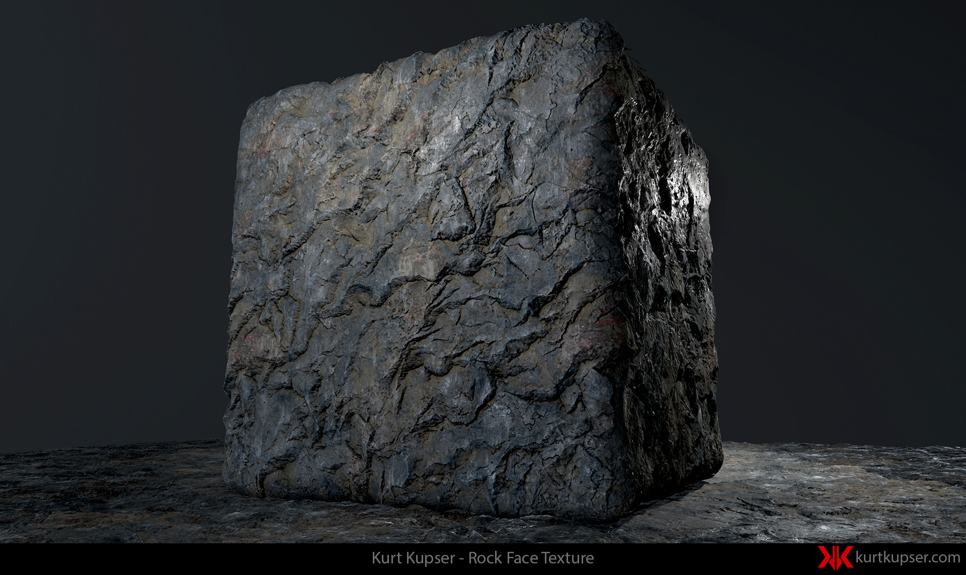 Artstation Substance Designer Cliff Face Texture Kurt
