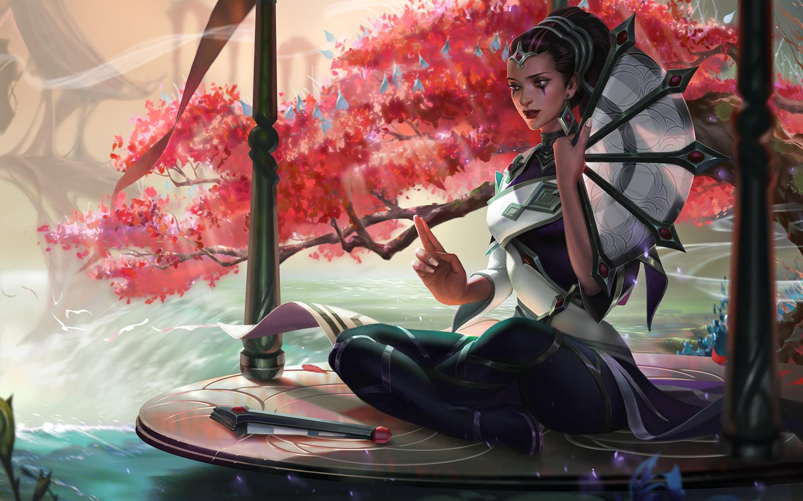 Traditional karma splash art for ROIT