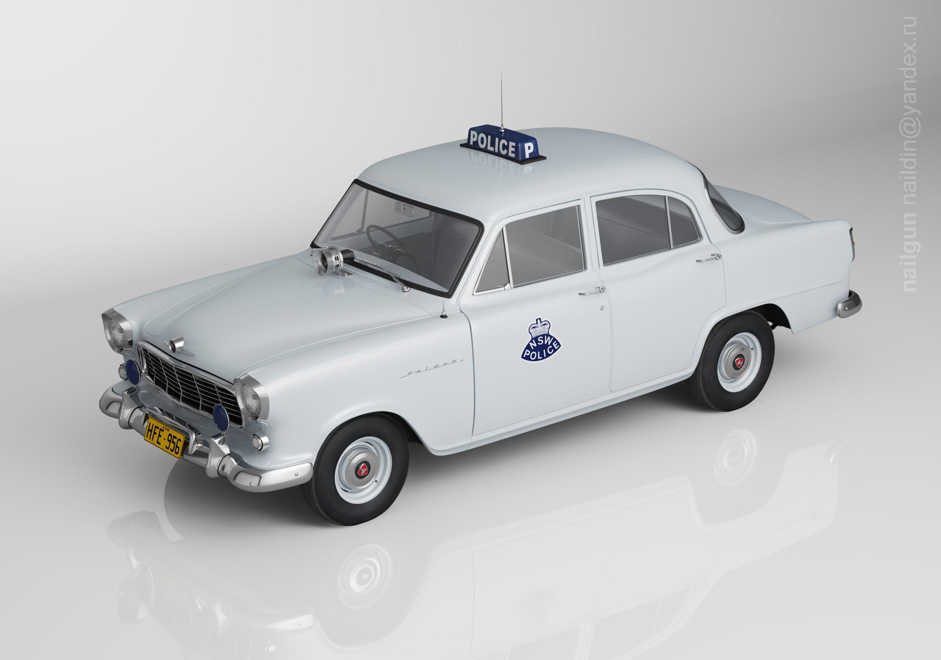 Nail khusnutdinov pwc 010 000 holden fe police miniature