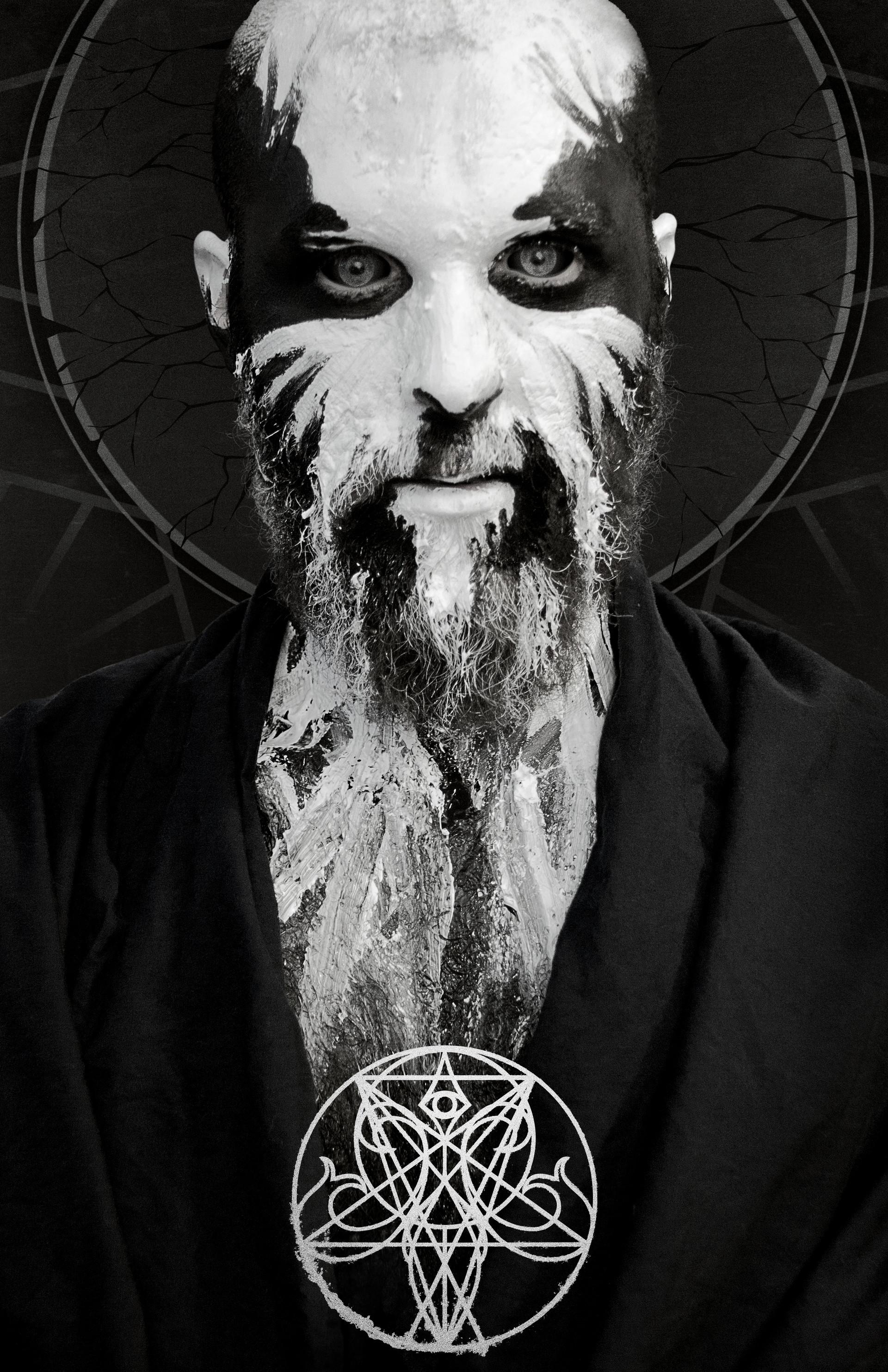 artstation black metal portraits gabriel forbes