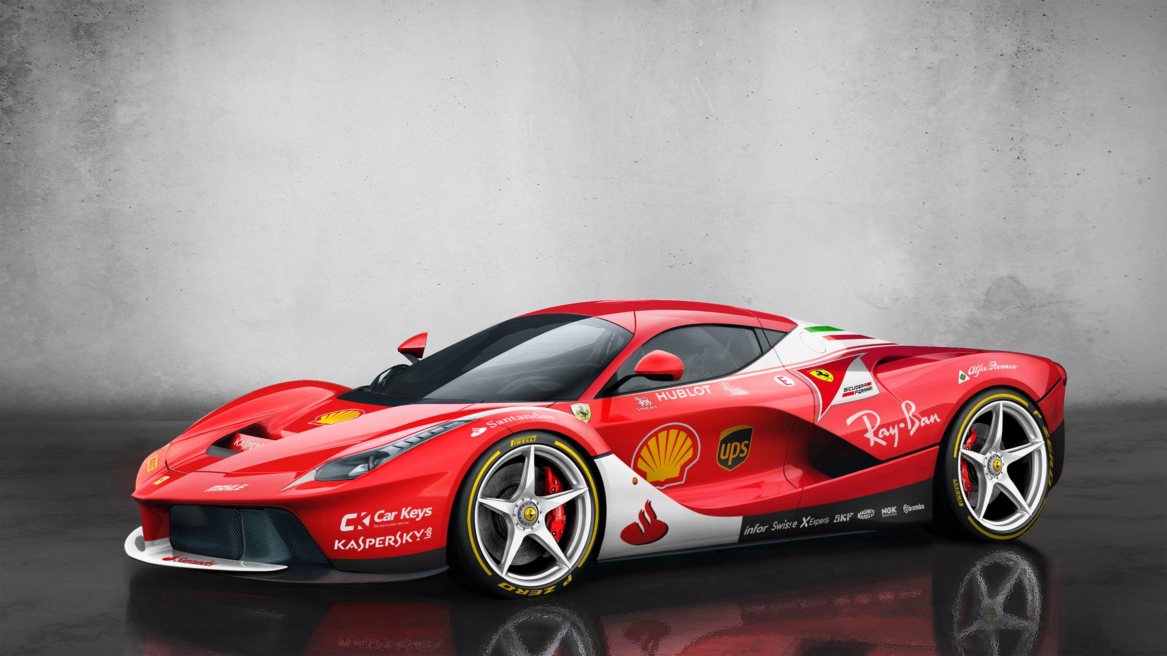 Ferrari Livery