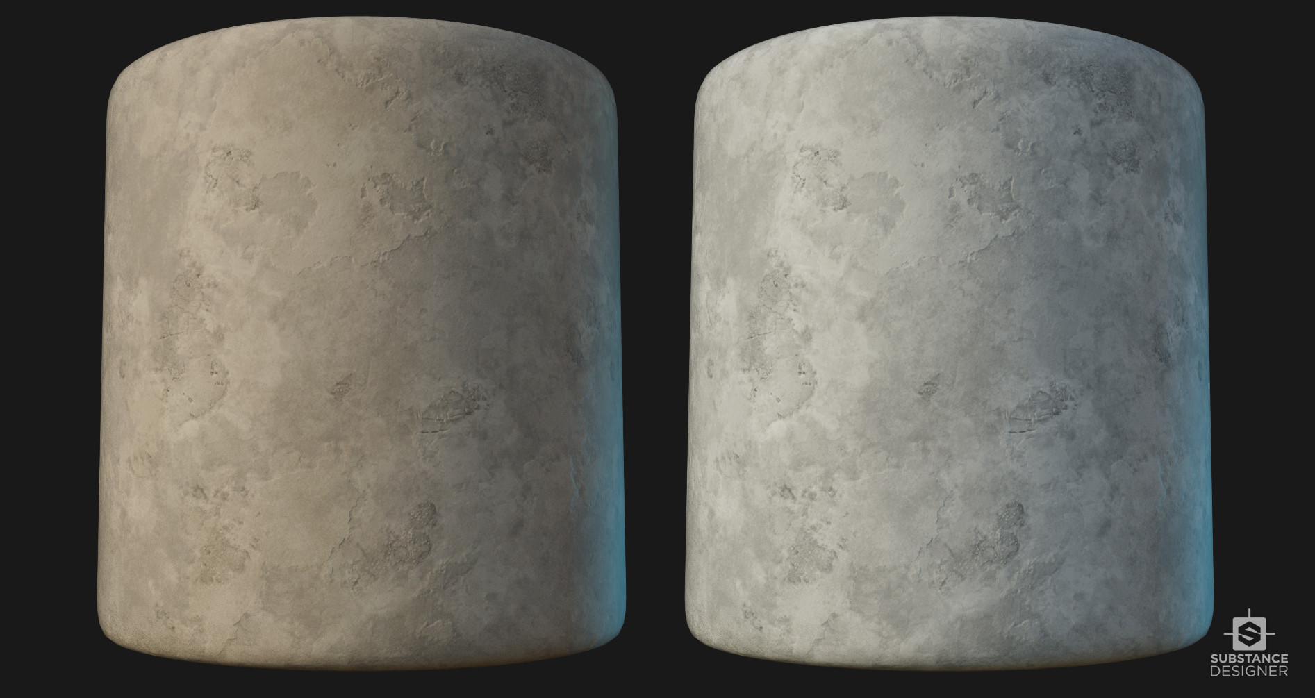 Victor santos concrete cylinder