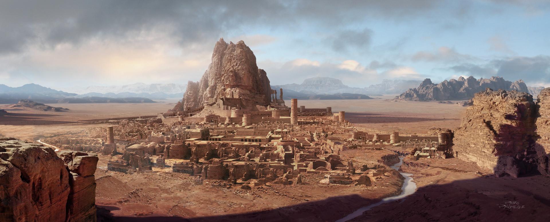 Pablo palomeque desert ruins