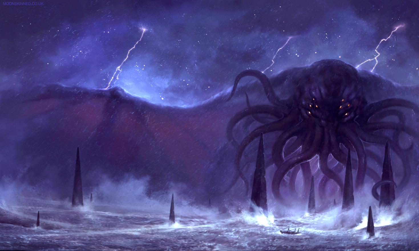 Sam lamont call of cthulhu 7th edition cover c