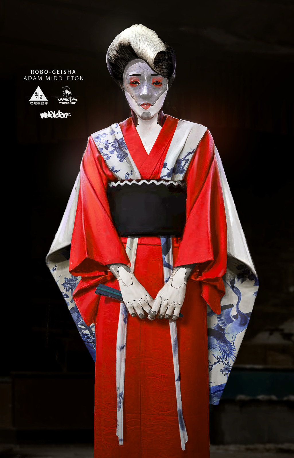 Red Robed Geisha