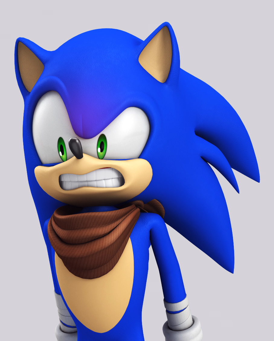 Artstation Classic Modern Boom Sonic Models Rafa Knight