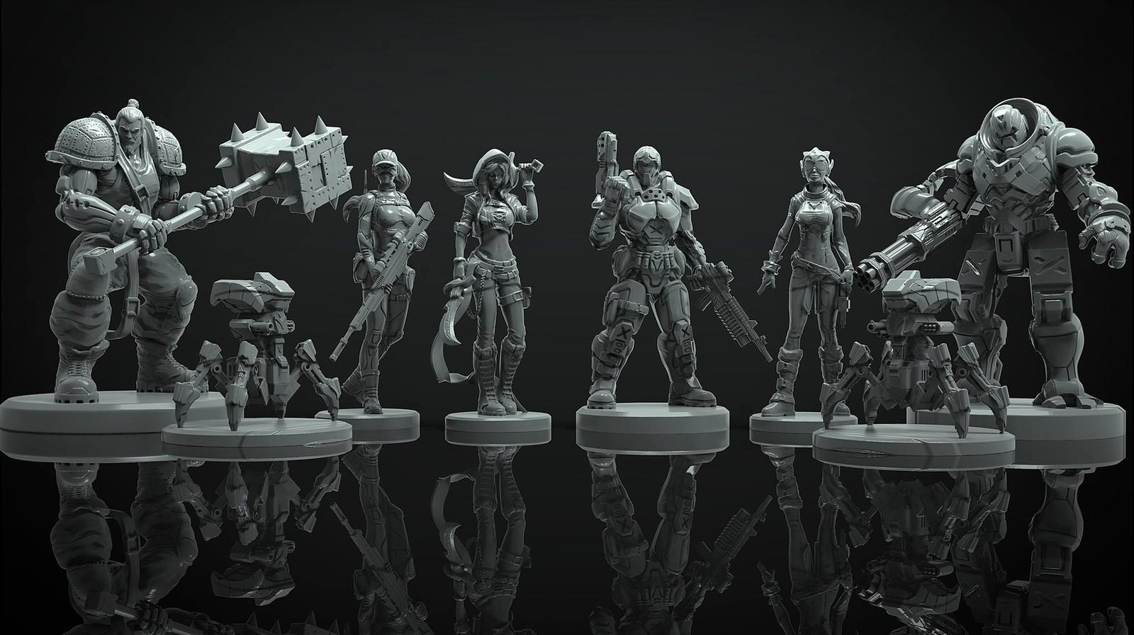 Last wargame miniatures