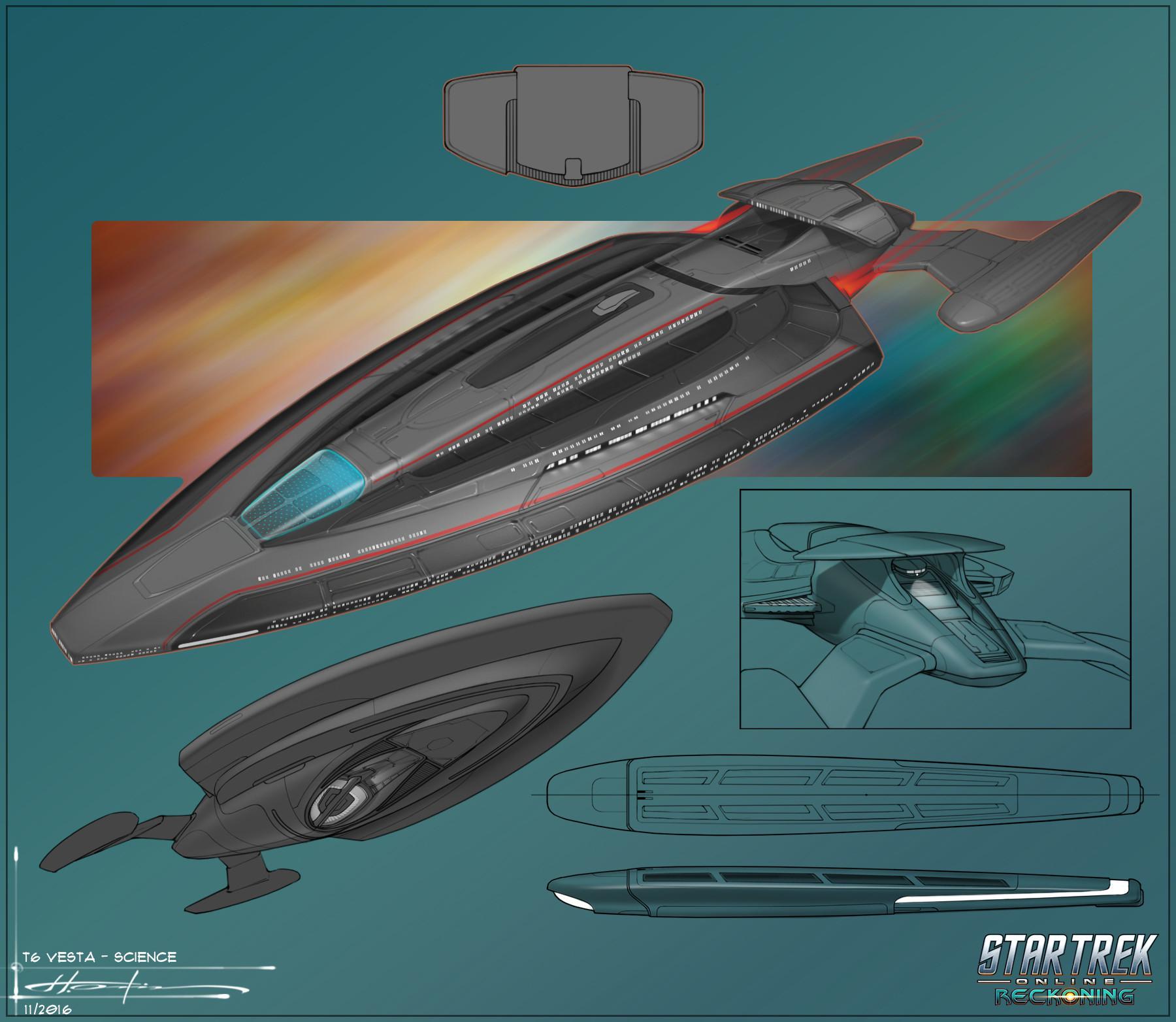 Artstation multi mission surveillance explorer t6 for Wohnung star trek design