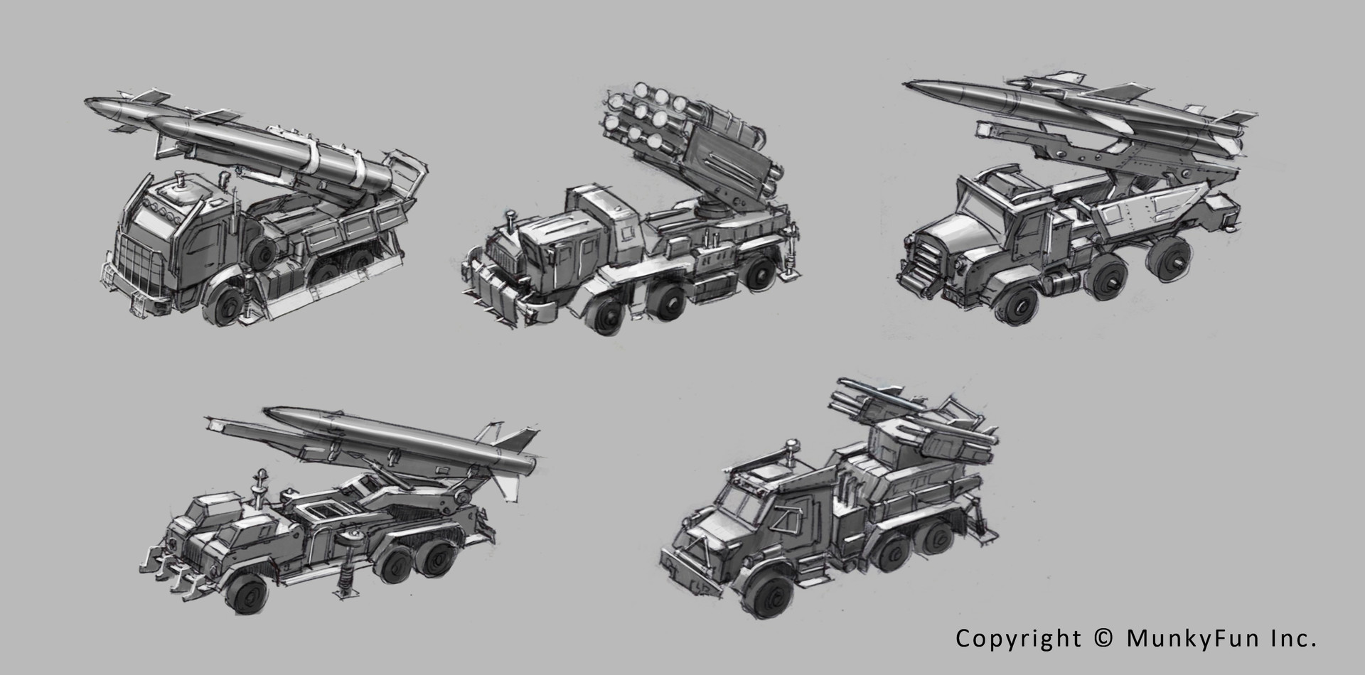Jessica tung chi lee missile truck sketches 1