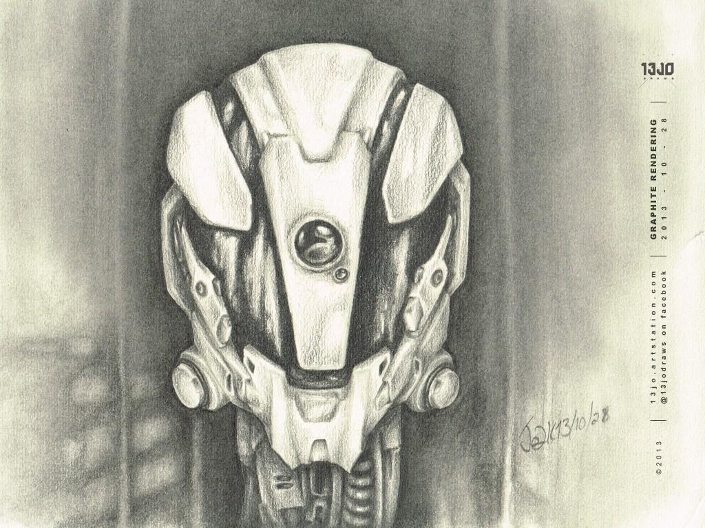 Tactical helmet design exploration.