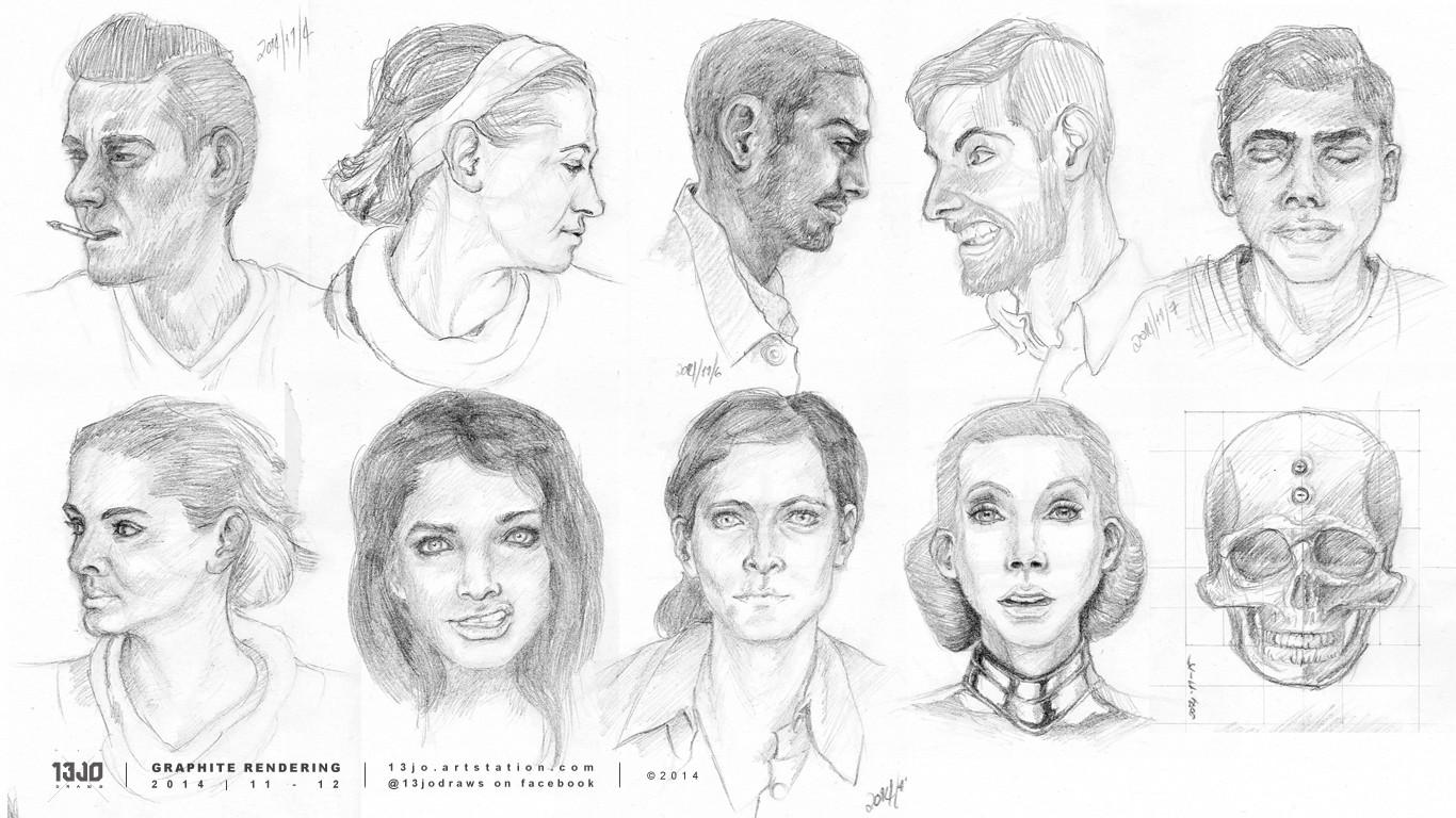 More faces.