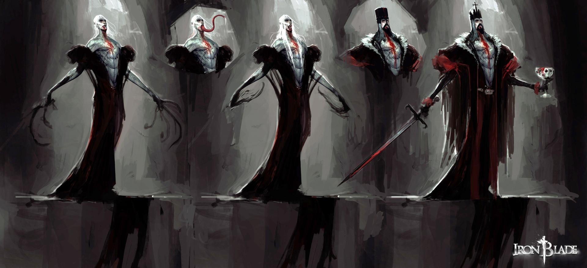 Alexandre chaudret hf creatures vampire 01 test